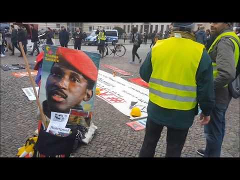 #Solidarität mit #Gelbwesten von #Aufstehen #Berlin Kundgebung 29.12.   #GiletJaunes #YellowVests