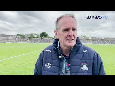 Mattie Kenny speaks to DubsTV after victory over Antrim