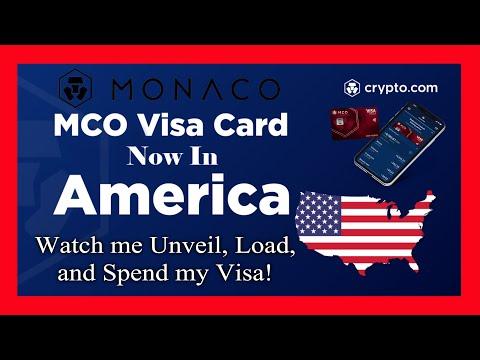 Monaco - Crypto.com - Watch me Unveil, Load, and Spend my Visa