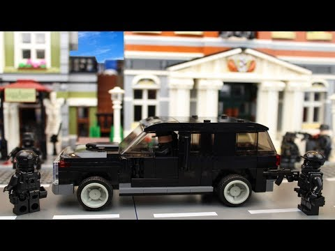 Lego SWAT - The Bank Robbery