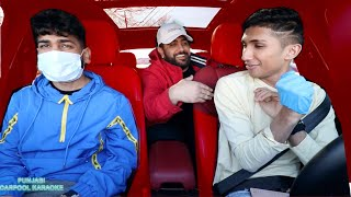 PUNJABI CARPOOL KARAOKE WITH PAVVAN AND JASMEET