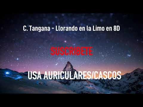 C. Tangana – Llorando en la Limo | MÚSICA EN 8D