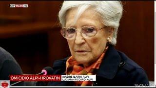 La Madre di Ilaria Alpi troppe umiliazioni,  mi fermo, delusa anche dal Presidente Mattarella