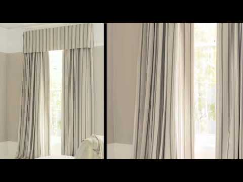 How to measure for pelmets - LAURA ASHLEY - YouTube