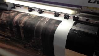 видео широкоформатная и интерьерная печать