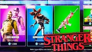 STRANGER THINGS SKINS & NEW BRUTAL MODE!! - Fortnite