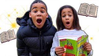 Magical Book Kids Pretend Play | FamousTubeKIDS