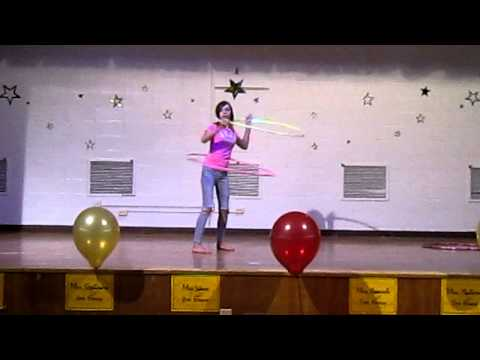 Lydia at the Westchester Intermediate School 6th Grade Talent Show!
