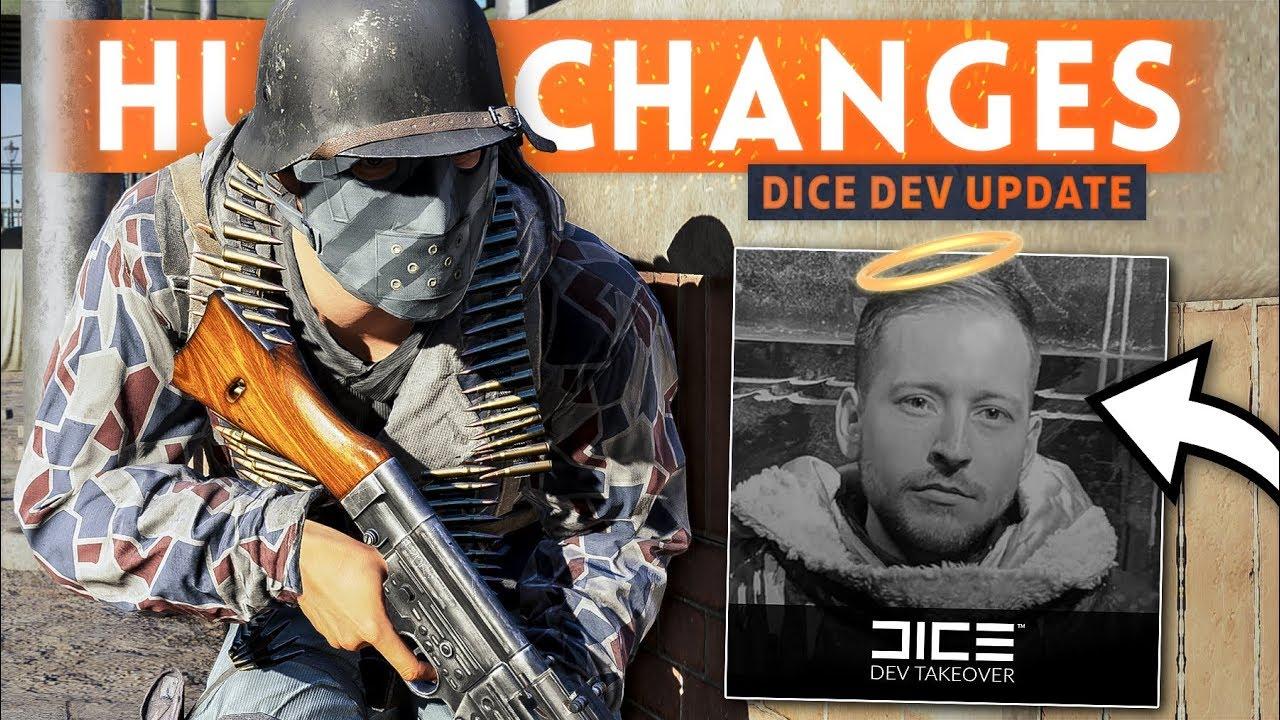 BIG CHANGES COMING? DICE Dev Reveals *NEW* GAMEPLAY DETAILS! - Battlefield 5 (Development Update)