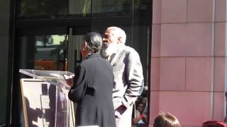 Dick Gregory Gets a Star on the Hollywood Walk of Fame