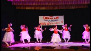 Kallyani and Team -Dance at Gokulam Public School,Attingal