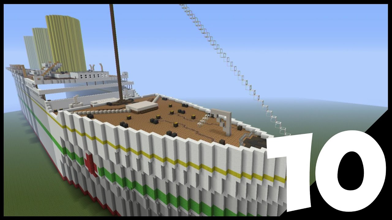Minecraft Lets Build Britannic