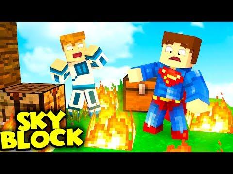 KTO PODPALIŁ WYSPE❓❗ | Minecraft SkyBlock S2 #13