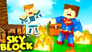 KTO PODPALIŁ WYSPE❓❗   Minecraft SkyBlock S2 #13