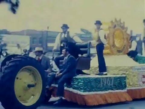 Rocky Mount, NC Centennial Parade 1967