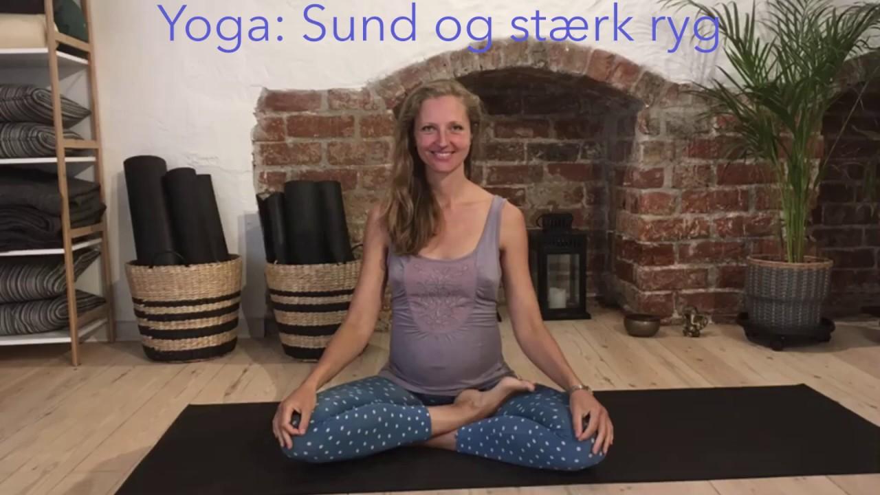 Yoga: Sund og stærk ryg