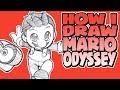 How I Draw Super Mario Odyssey