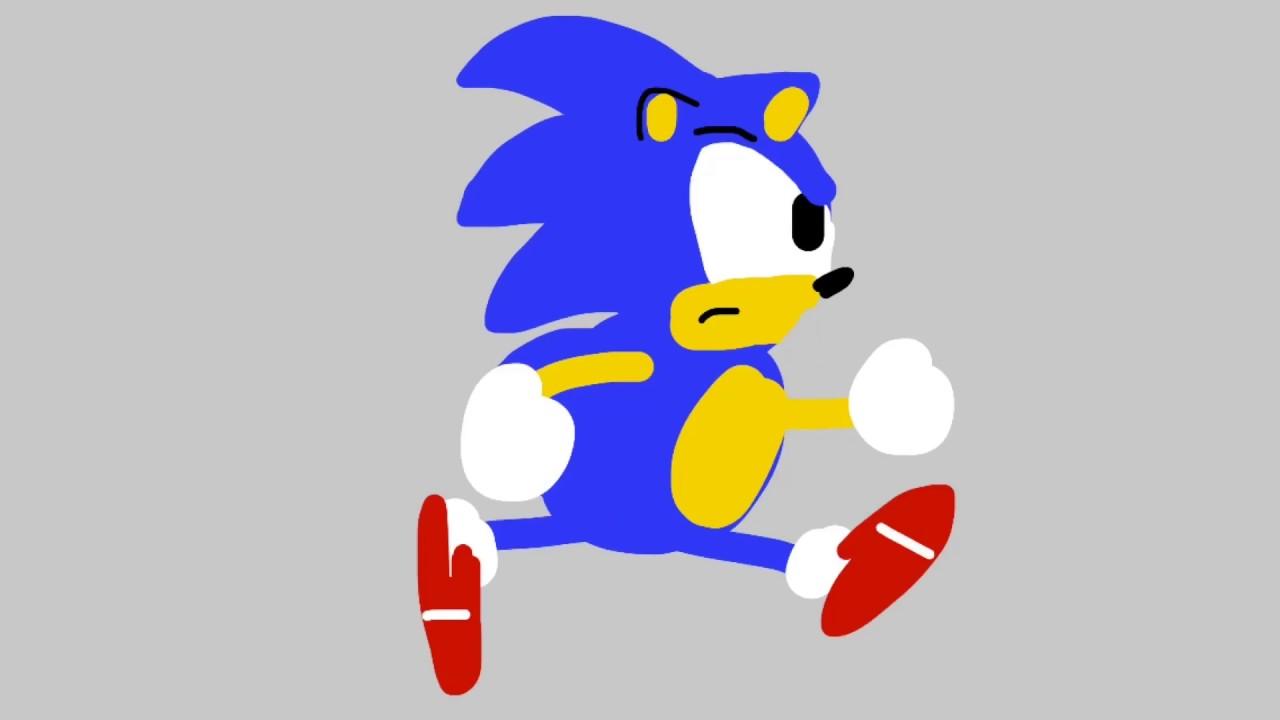 sonic the hedgehog 2d art