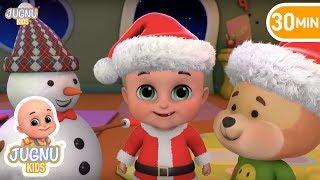 Christmas Songs Medley (Deck the Halls, Jingle Bells, We Wish You a Merry Christmas) | Jugnu kids