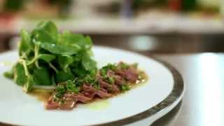 Туна стейк салат
