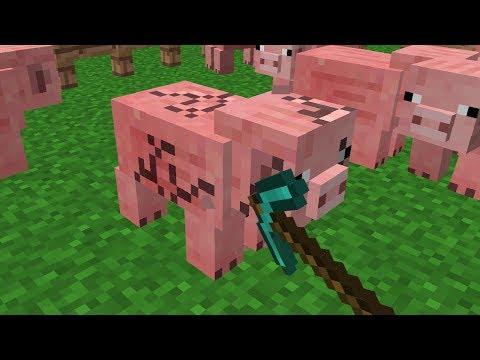 Minecraft | Cursed Images 05 (Mining Animals)