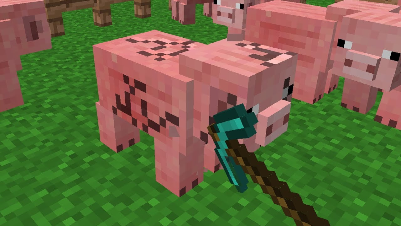 Minecraft | Cursed Images 05 (Mining Animals) - YouTube