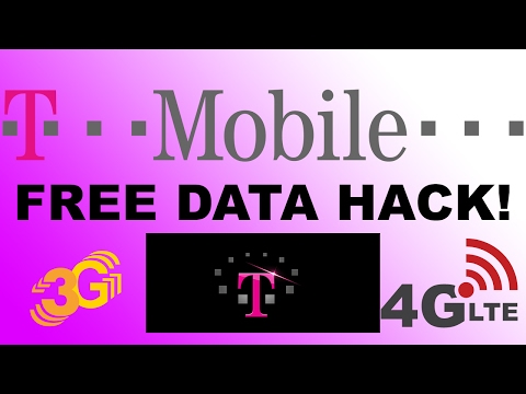 Hack T-Mobile 2017 For Unlimited Data And Tether - Stream Full HD