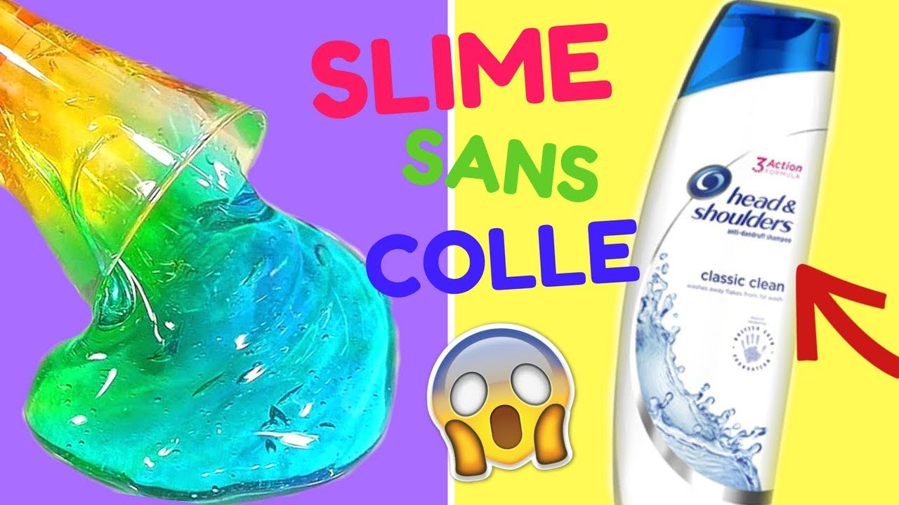 3 recettes slime sans colle de mes abonn s crash test 1 youtube. Black Bedroom Furniture Sets. Home Design Ideas
