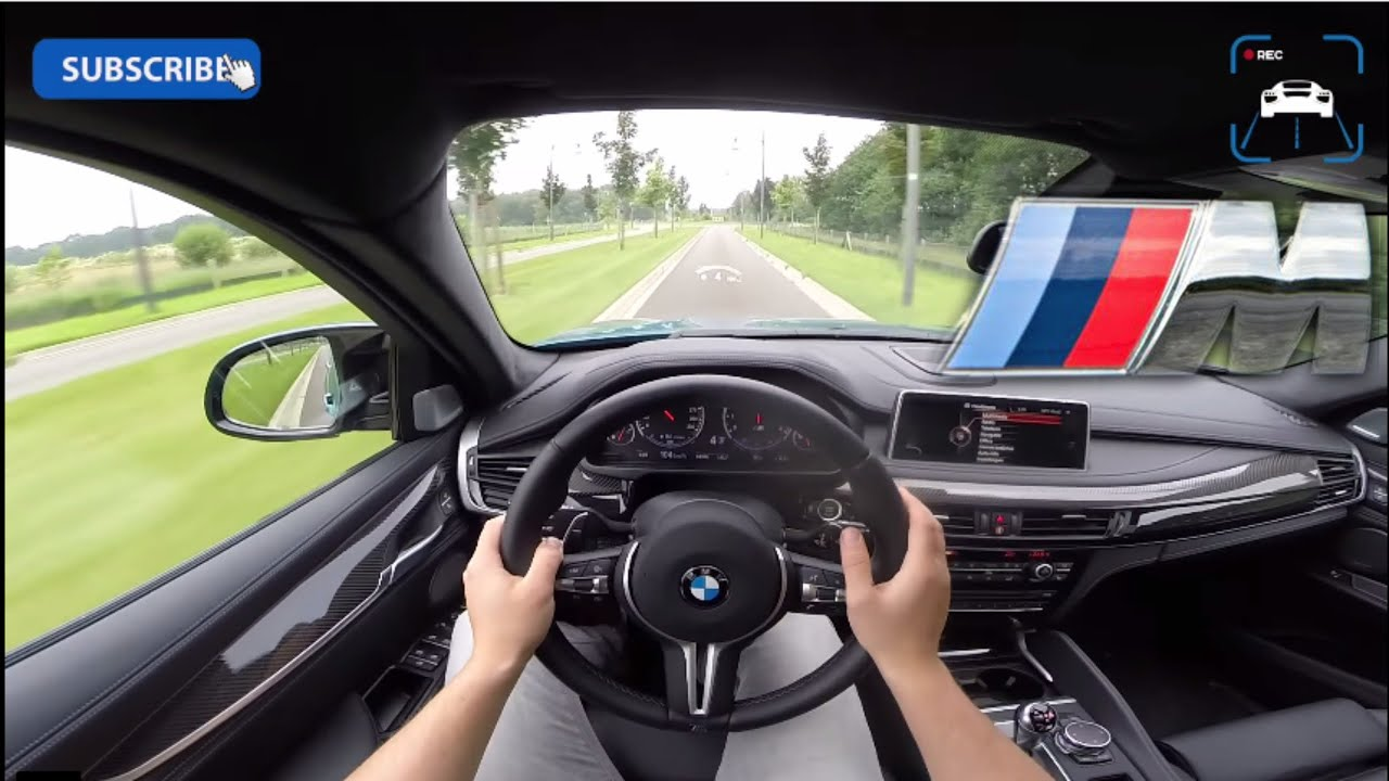 Bmw X6m 2016 Review Pov Test Drive