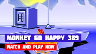 Monkey GO Happy: Stage 389 – Boaty McBoatface · Game · Gameplay