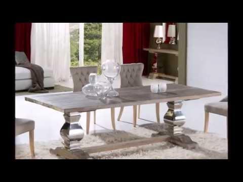 Decoraci n mesa de comedor centro y consolas de schuller - Decoracion para mesas de centro ...