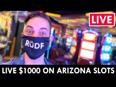 🔴 LIVE IN THE CASINO! 🎰 $1000 On Arizona Slots At Gila River Vee Quiva 🤑