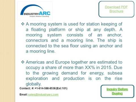 Offshore Mooring System Market: high demand for mooring winch for ships and FPSO tanks