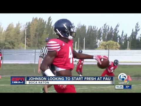 Johnson Looking To Start Fresh at FAU