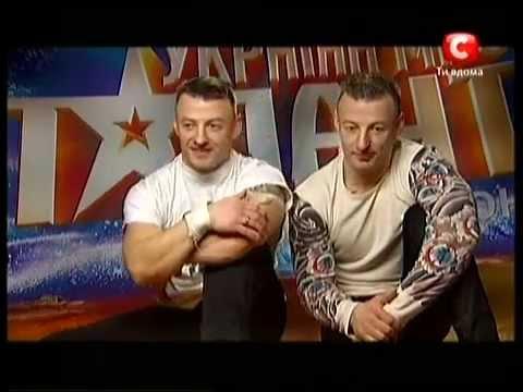 Илья и Даниил Страховы  The Show Must Go On Украна ма талант-3 Кастинг во Львове и Киеве