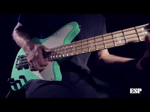 ESP Guitars: LTD & E-II GB Series Bass Demo