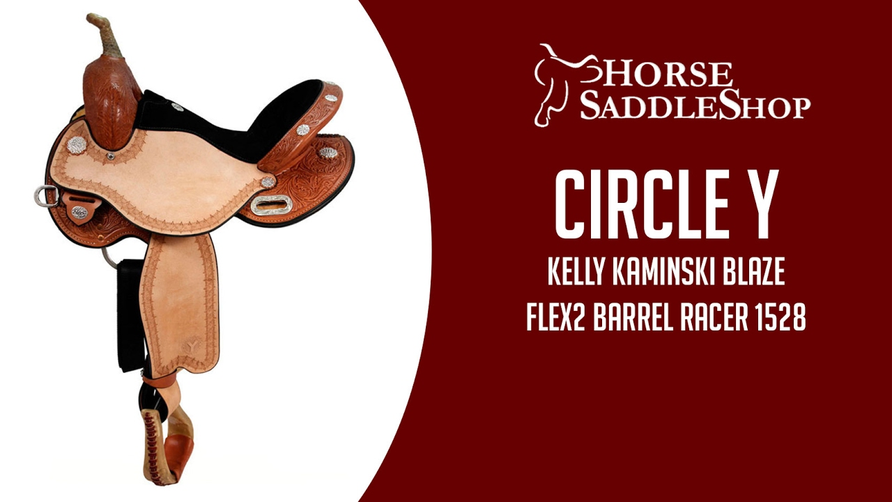 Circle Y Kelly Kaminski Blaze Flex2 Barrel Racer 1528