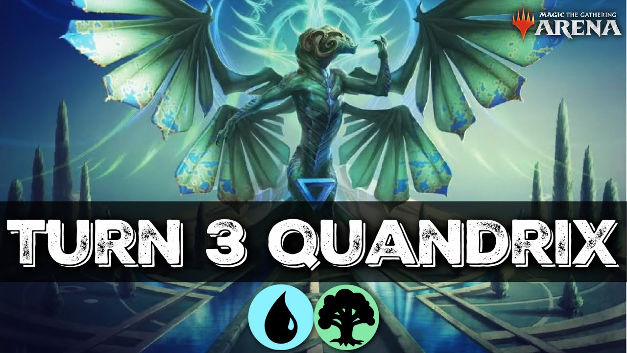 TURN 4 WIN!! TANAZIR QUANDRIX RAMP & SWING AGGRO DECK IN STANDARD | MTG ARENA