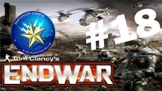 Tom Clancy's EndWar - Act 18: European Federation Quick Strike