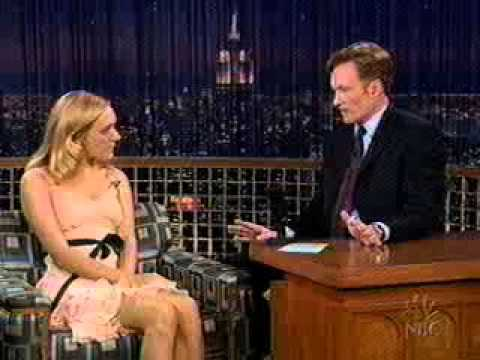 Chloe Sevigny on Conan O'Brien 2003