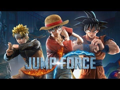 JUMP FORCE - O INÍCIO, nem o GOKU pra salvar esse jogo