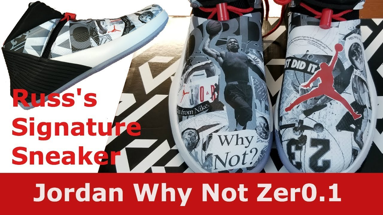 6acec3a800a055 Russell Westbrook s Jordan Why Not Zer0. 1 Got them early!! - YouTube