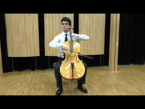 Rolando Fernández - Piatti - Capriccio no. 6 for cello solo