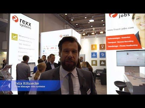 rexx systems auf der Zukunft Personal Nord 2018