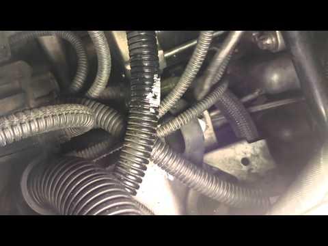 BMW 335I Crankshaft sensor location and fix 2 - YouTube