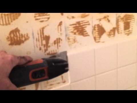 Your Handyman Removing ceramic tile