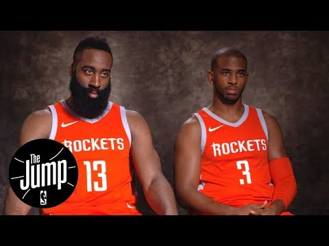 Chris Paul and James Harden exclusive interview with Rachel Nichols | The Jump | ESPN