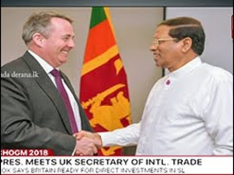 President Sirisena at 25th Commonwealth Heads of Government Meeting in London (English)