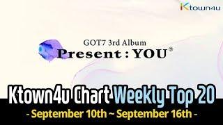 [Ktown4u Chart] Kpop Weekly TOP 20 (September 10th~16th, 2018) #020