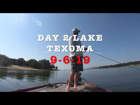 Bass Fishing Lake Texoma Day 2